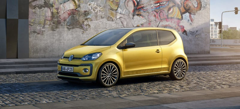 Illustration for article titled The Volkswagen Up Goes Turbocharged To Become The Peppy Puppy We Always Wanted