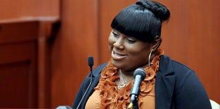 Rachel Jeantel testifies at George Zimmerman's trial. (Jacob Langston/Getty Images)
