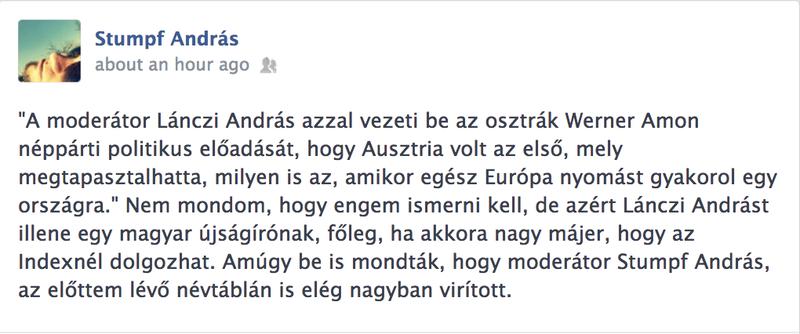 Illustration for article titled Médiaapokalipszis most: Stumpf Andrást összekeverték