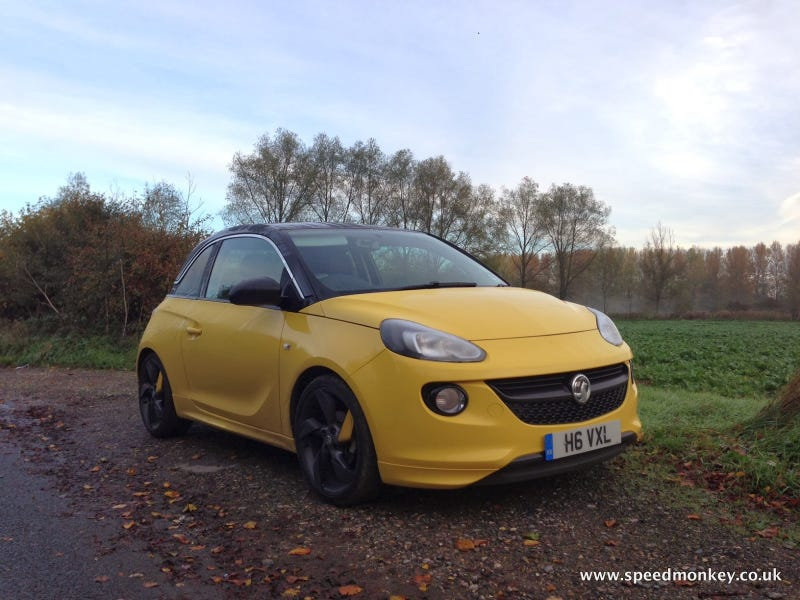 Illustration for article titled Vauxhall ADAM Review