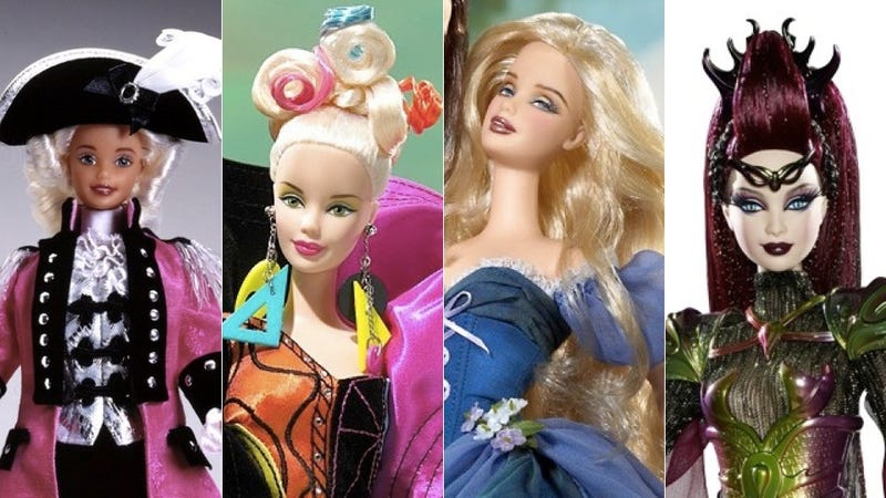 Illustration for article titled 20 Weird, Insane And Extremely Disturbing Barbie Dolls