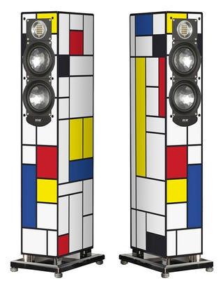 Illustration for article titled ELAC Uses De Stijl Art Movement as Loudspeaker Inspiration