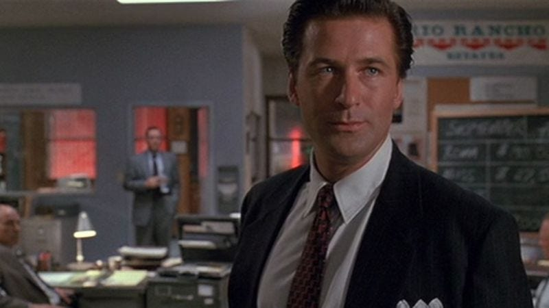 glengarry glen ross and death of Glengarry glen ross: 10 sales lessons from the 1992 cult classic movie  dubbed 'death of the fuckin' salesman' because of its similar themes to arthur miller .