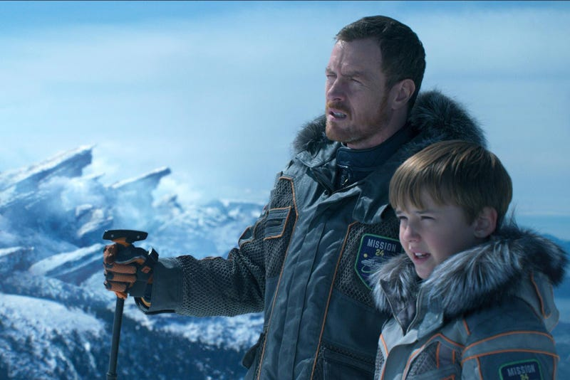 Toby Stephens and Max Jenkins get Lost In Space