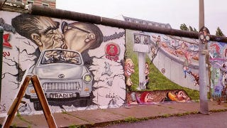 Illustration for article titled Your piece of the Berlin Wall is not special