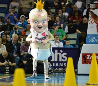 Illustration for article titled Before Pierre The Pelican, There Was Terrifying King Cake Baby