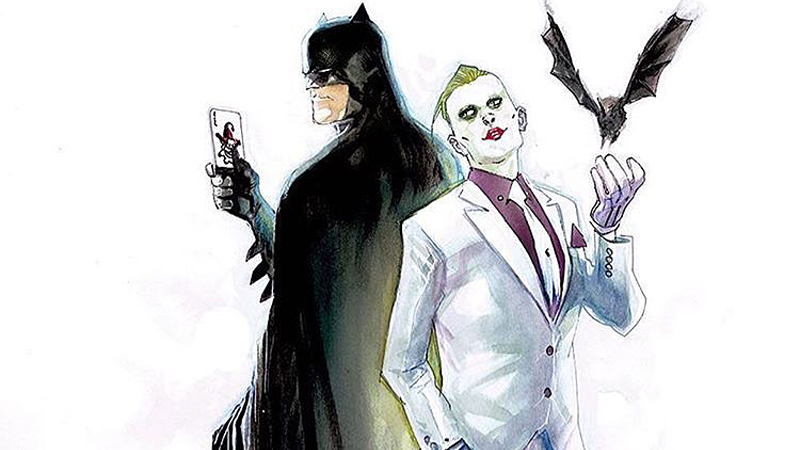 Illustration for article titled Is This Our First Look at DC Rebirth's New Design for the Joker?