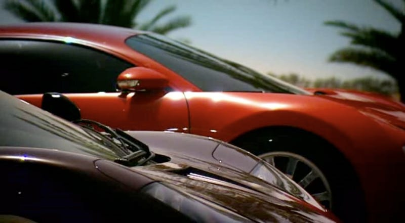 Illustration for article titled Top Gear: Bugatti Veyron Vs. McLaren F1