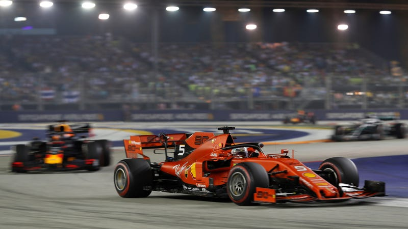 Ferrari Flexes On Mercedes With A 1-2 Finish In Singapore Grand Prix