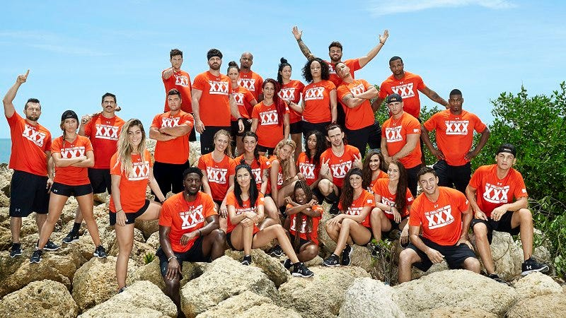 The contestants of The Challenge XXX: Dirty 30 (Photo: MTV)