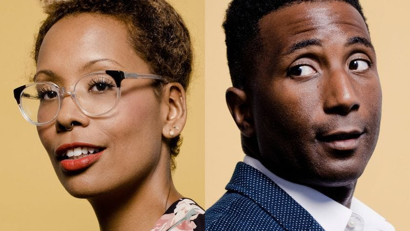 Still Processing hosts Jenna Wortham and Wesley Morris