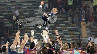 Illustration for article titled Barca Complete The Sexfecta