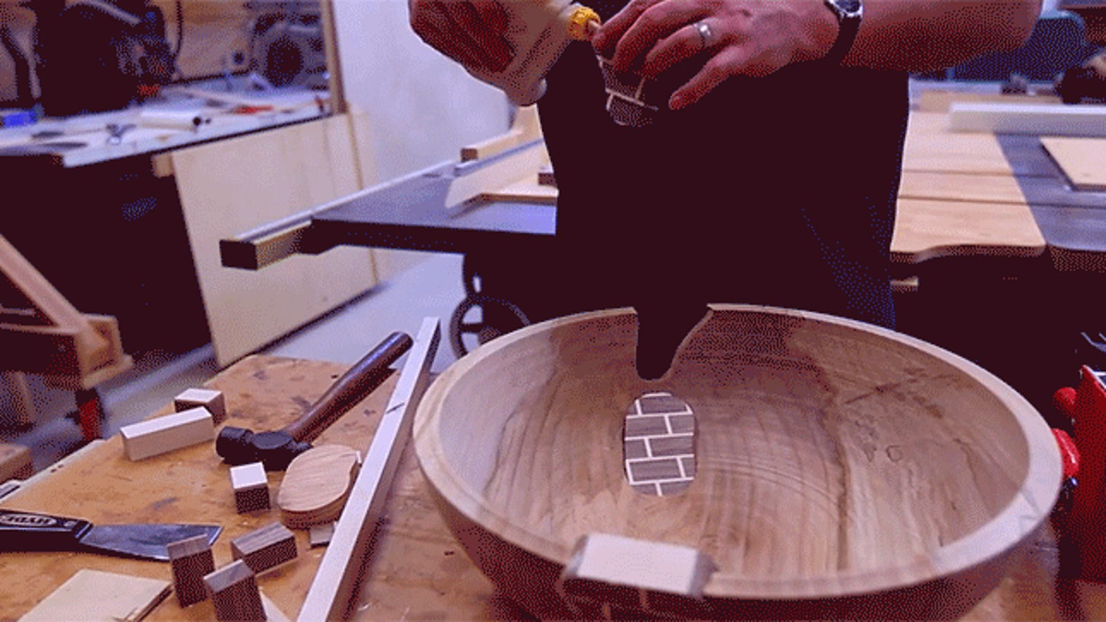 Watch the Years-Long Process of Turning a Tree Into a Bowl