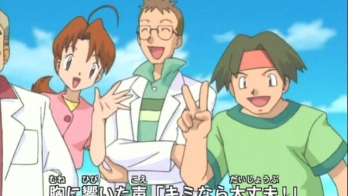 Pokemon lemon ash delia