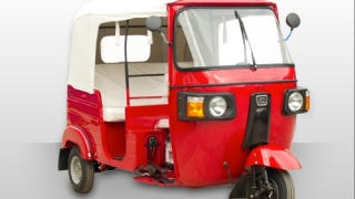 Illustration for article titled Bajaj RE GDI (Tuk tuk): Pictures