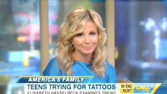 Illustration for article titled Elisabeth Hasselbeck's GMA Debut Is Adequate Enough