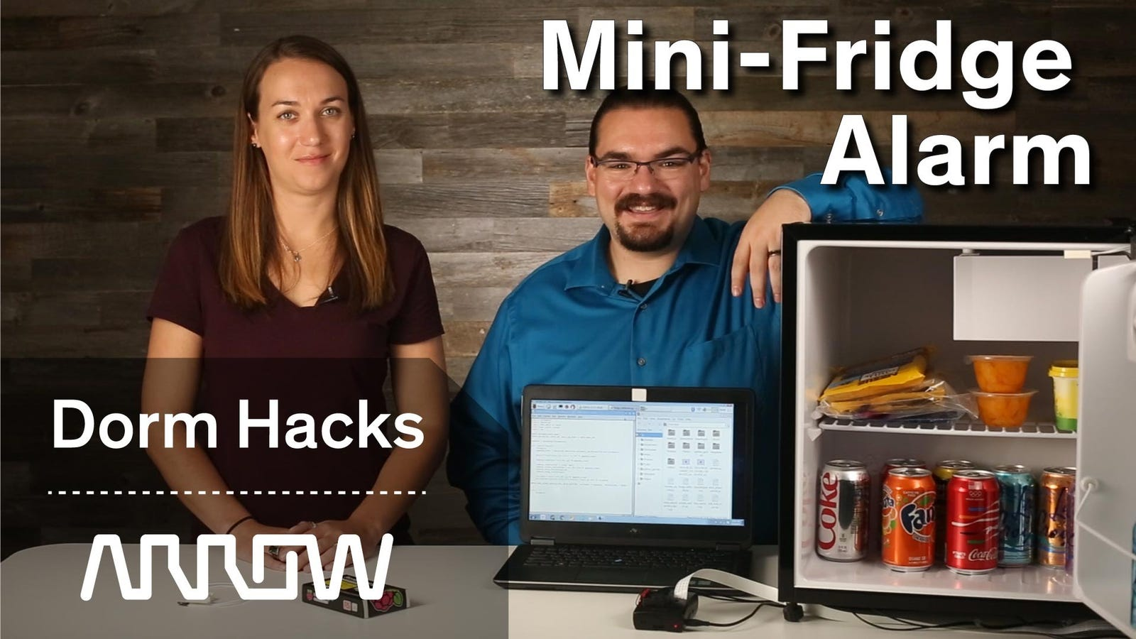 Add an Alarm System to Your Mini Fridge to Catch Snack Thieves In