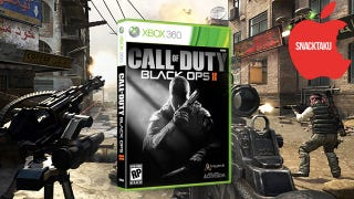 Illustration for article titled Call of Duty: Black Ops II: The Snacktaku Review