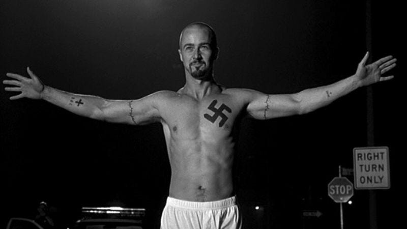 Illustration for article titled American History X