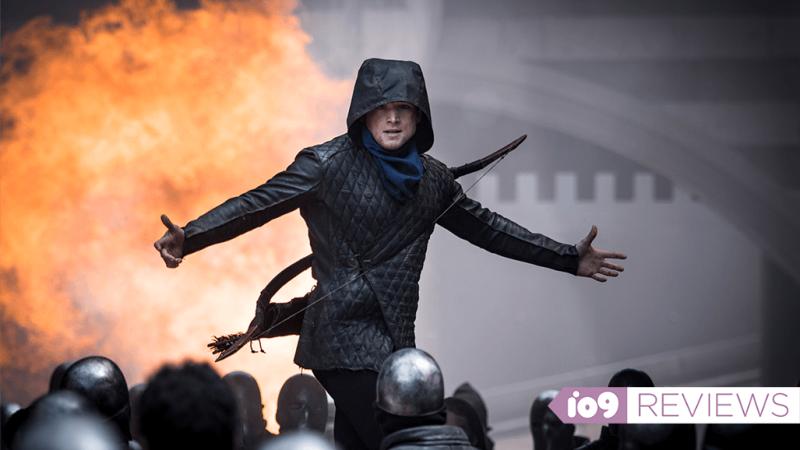 """Taron Egerton as Robin """"Rob"""" of Loxley."""