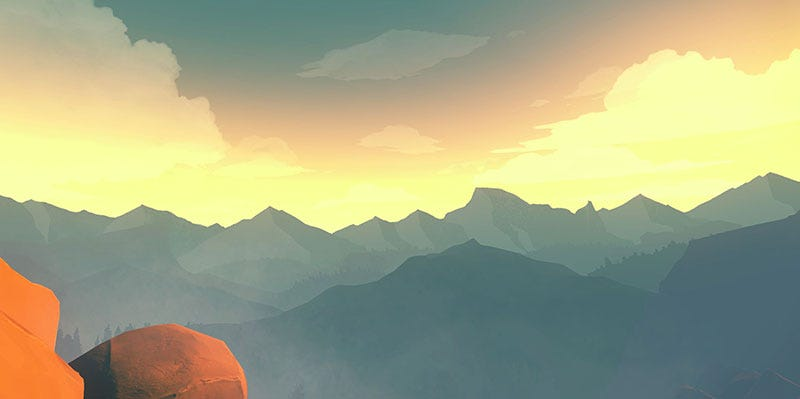 """Illustration for article titled Firewatch's Fancy """"Screenshot"""" Mode Is Fantastic"""