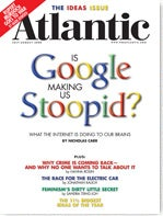 Illustration for article titled Google is NOT Making us STUPID