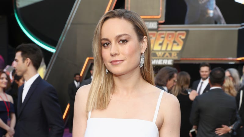 Illustration for article titled Brie Larson says she's done filmingCaptain Marvel