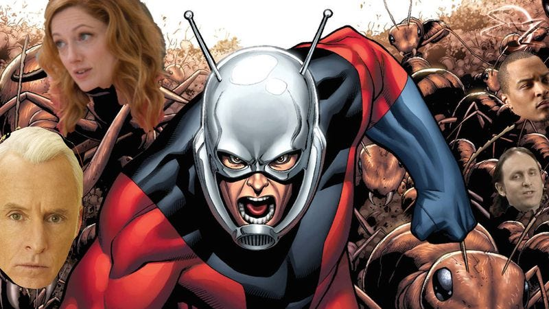 Illustration for article titled Ant-Man adds John Slattery, Judy Greer, T.I., and Neil Hamburger, presumably as ants
