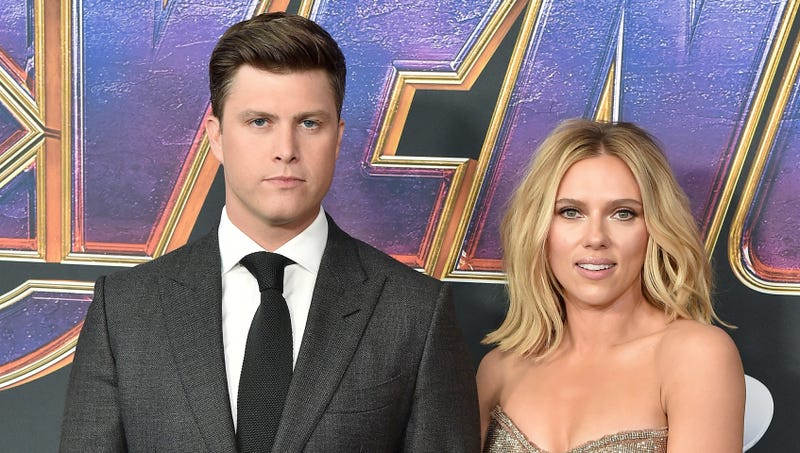 Illustration for article titled Relationship Experts Still No Closer To Discovering What Scarlett Johansson Sees In Colin Jost