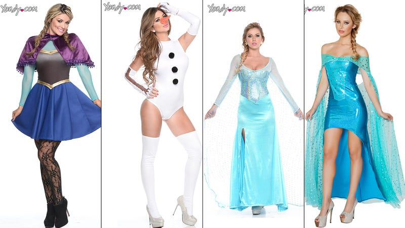 Illustration for article titled Here Are Your Sexy Frozen-Inspired Halloween Costumes