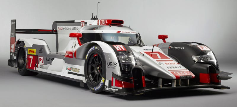 Illustration for article titled The New Audi R18 E-Tron Quattro Has Way More Hybrid Power