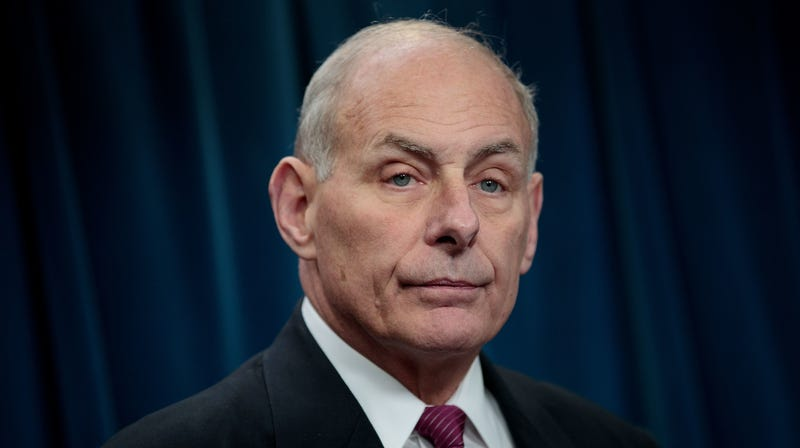 Illustration for article titled Looks Like White House Chief of Staff John Kelly Got Hacked