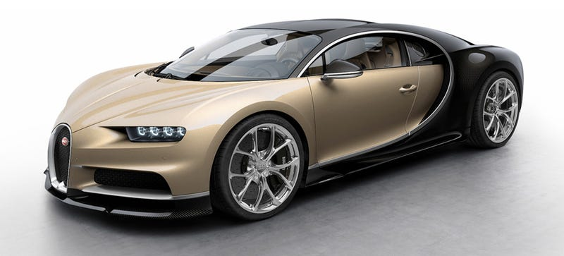 Illustration for article titled The $2.5 Million Bugatti Chiron Comes In Brown And 7 Other Majestic Paint Jobs