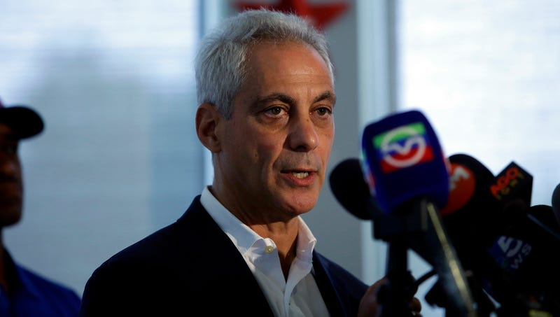 Illustration for article titled Frustrated Rahm Emanuel Torn Between Addressing Chicago's Shootings, Just Fucking Going For Nation's Murder Capital