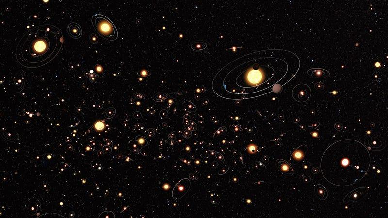 Pretty space art. Image: ESA/Hubble/ESO/M. Kornmesser