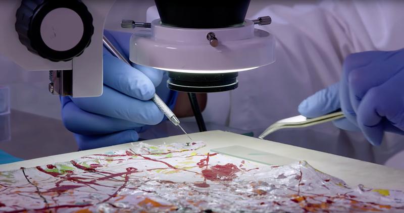  Técnicas de expertos forenses para detectar falsificaciones de obras de arte [+Video]