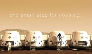 Illustration for article titled A Cosplayer Might Be One Of The First People On Mars