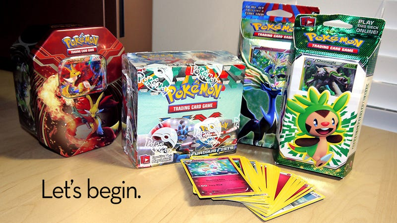 Illustration for article titled Getting Started With The Pokémon Trading Card Game
