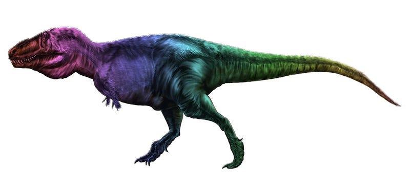 Illustration for article titled Una nueva técnica permitirá por fin conocer el color real de los dinosaurios