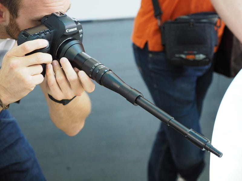 This Telescoping Macro Lens Looks Completely Insane