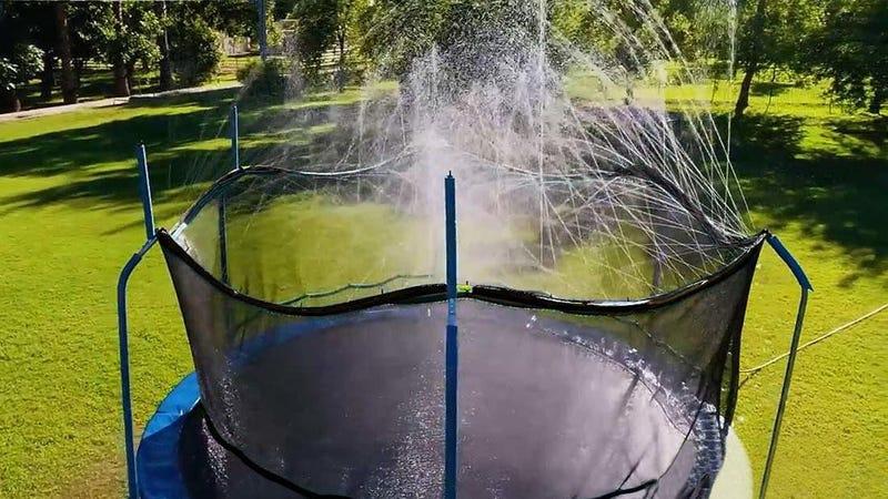 Bobo Trampoline Water Sprinkler | $23 | Amazon | Clip the 10% off coupon
