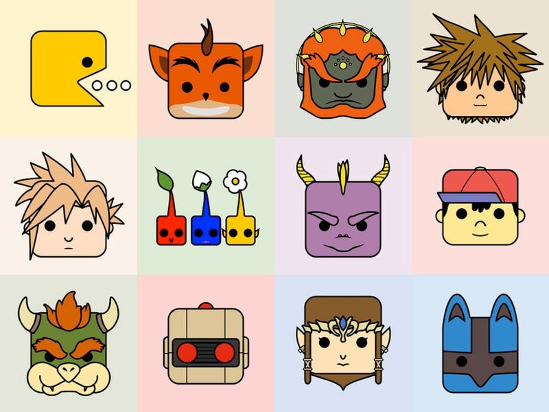 Illustration for article titled If Video Game Characters Were On Twitter, These Would Be Their Profile Pictures