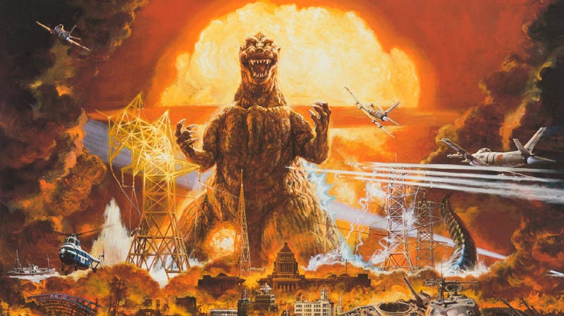 Illustration for article titled Everything You Needed to Know About Godzilla