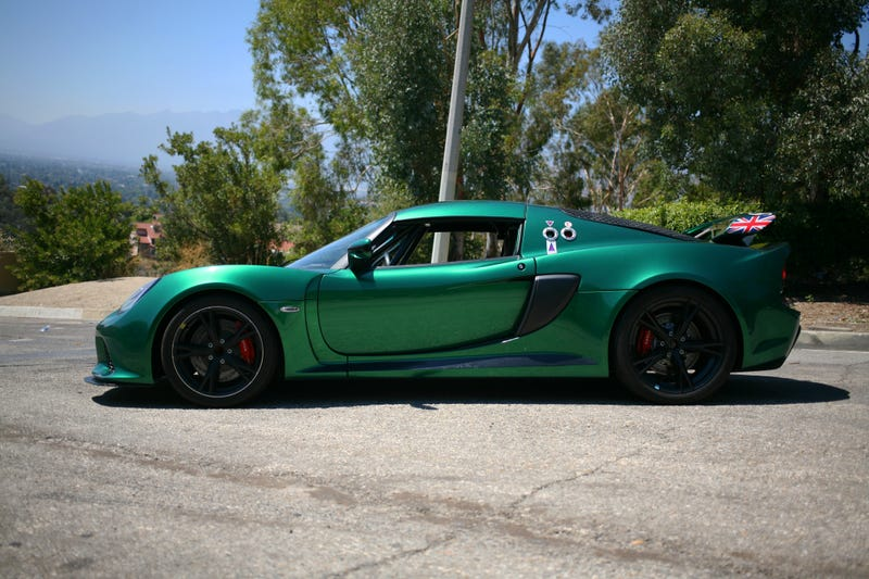 Illustration for article titled I drove a 2012 Lotus Exige in the US. What do you want to know?