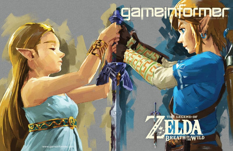 Illustration for article titled Impressions From Game Informer's Breath of the Wild Screenshots