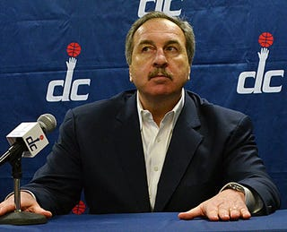 Illustration for article titled Don't Be Fooled: Wizards GM Ernie Grunfeld is Hot Garbage