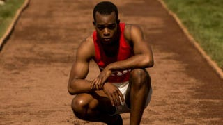 Stephan James as Jesse Owens in Race.Focus Features