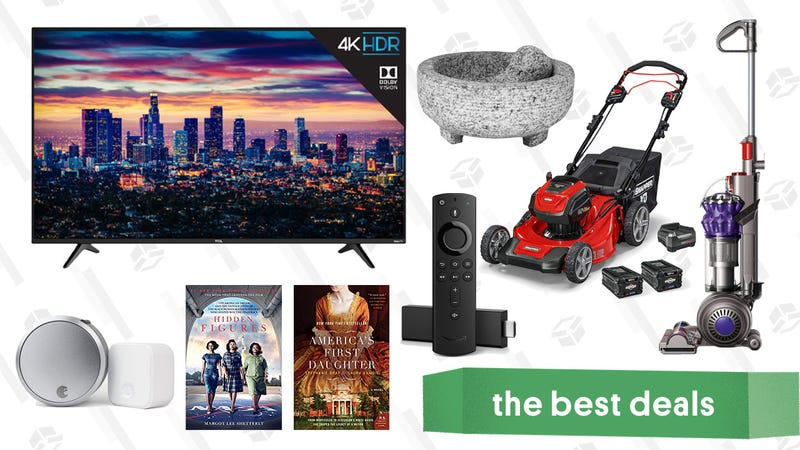 Illustration for article titled Sunday's Best Deals: TCL 6 Series TVs, Dyson, Amazon Devices, and More