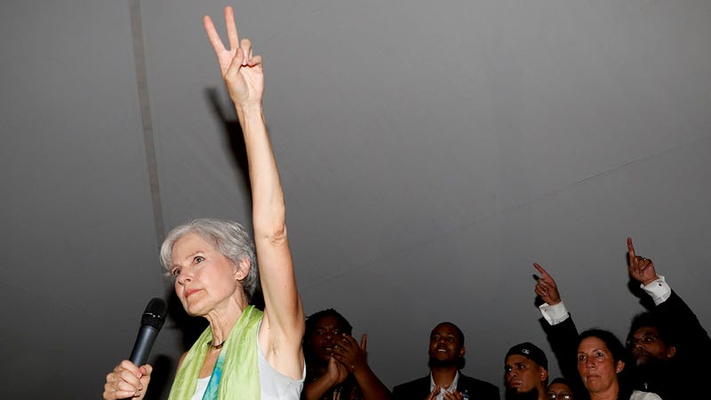 Jill Stein Wins Green Party Nomination, Courting Disaffected Sanders Supporters