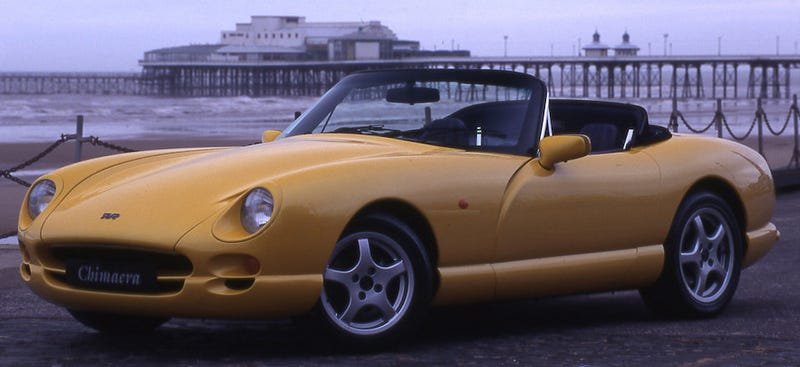 Illustration for article titled TVR Set To Launch New Model In 2-3 Years. Rule Britannia!